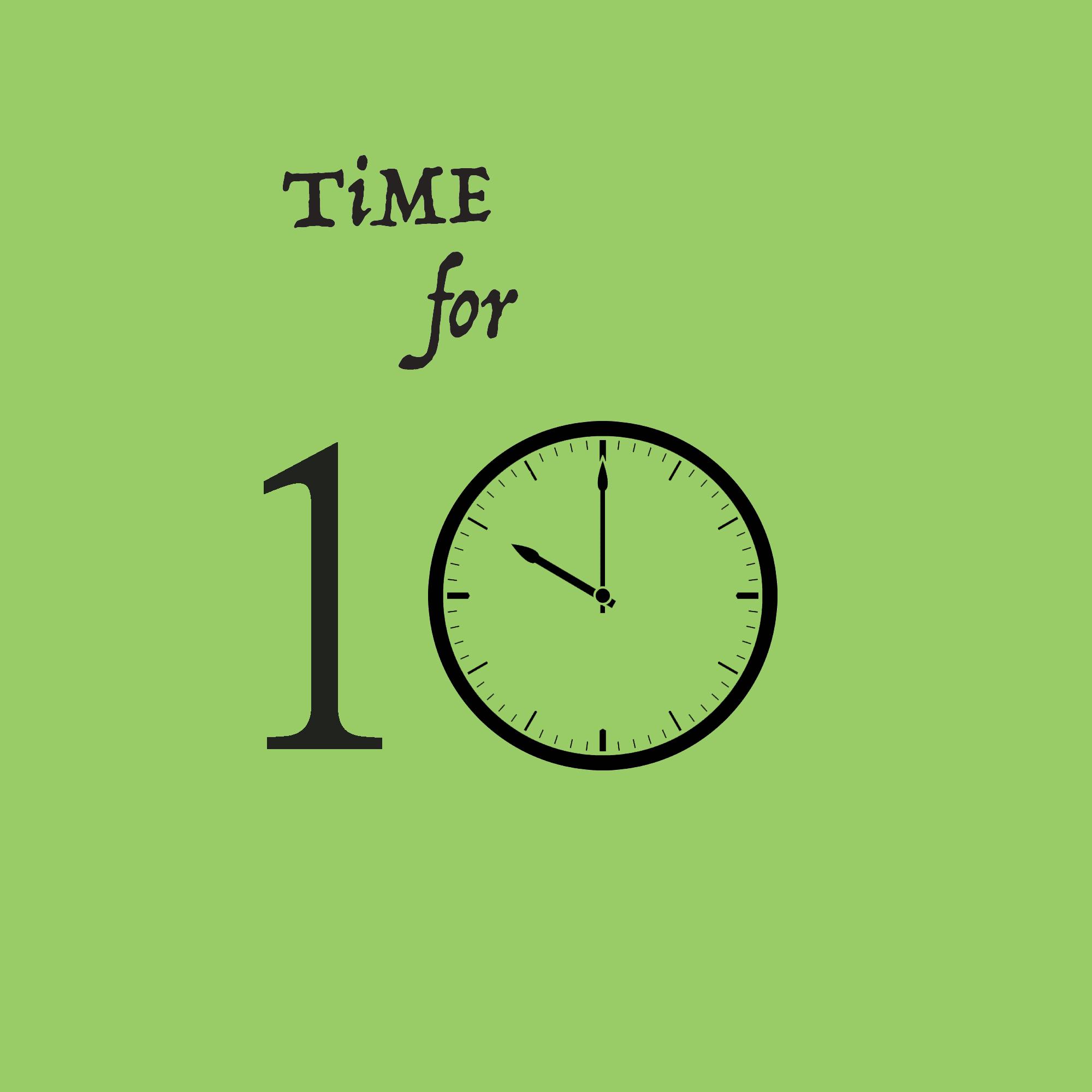 Time For Ten: Top Ten Countdown Lists